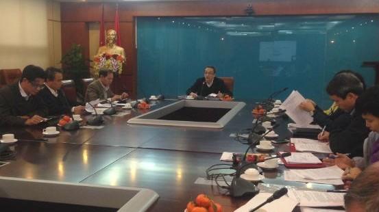 Thứ trưởng Bộ TT&TT Phan Tâm chủ trì phiên họp chiều 21/1/2016